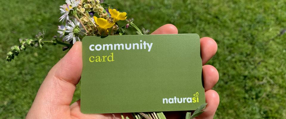 Community Card - NaturaSì