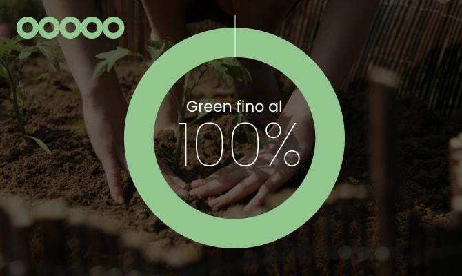 5 cerchi:<br/>ecosostenibilità avanzata.