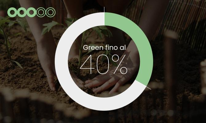 3 cerchi:<br/>transizione ecologica in atto.